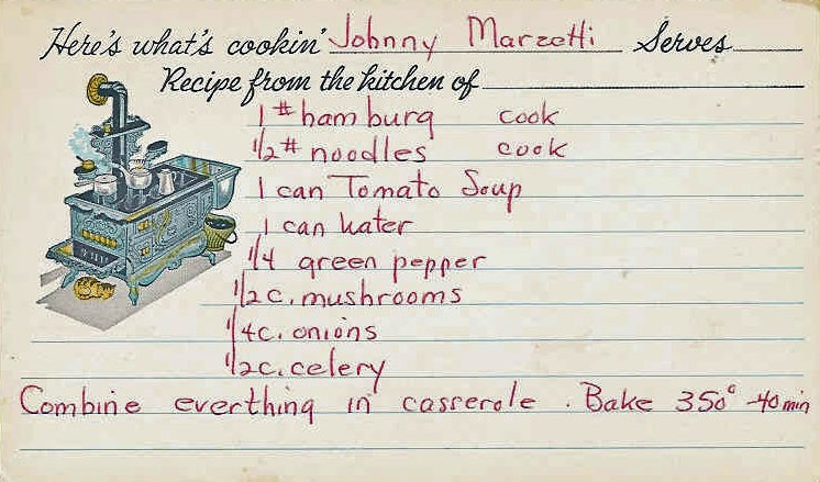 ... johnny marzetti s immigrant johnny marzetti casserole johnny marzetti